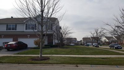 Plainfield Condo/Townhouse For Sale: 12904 Cypress Lane