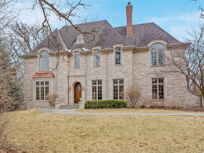 Hinsdale IL Single Family Home New: $2,000,000