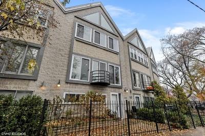 Condo/Townhouse For Sale: 1870 North Oakley Avenue