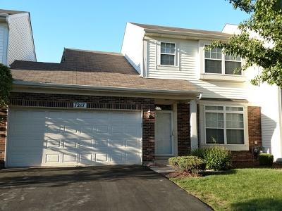 Plainfield Condo/Townhouse For Sale: 7217 Bradley Drive