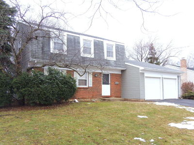 Schaumburg Single Family Home For Sale: 128 Wilmslow Lane