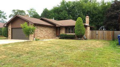 Homer Glen Single Family Home For Sale: 14947 South Arboretum Drive