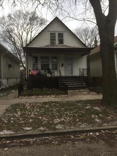 Single Family Home For Sale: 12040 South Lafayette Avenue