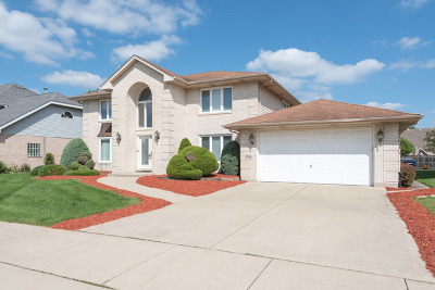 Orland Park Single Family Home For Sale: 7836 Sea Pines Road