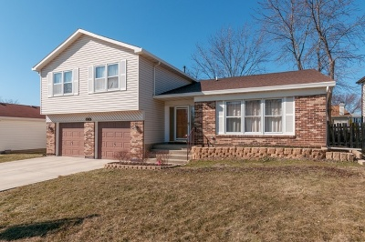 Glendale Heights Single Family Home For Sale: 1874 Deere Lane