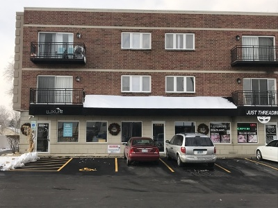 Oak Forest Commercial For Sale: 15524 Cicero Avenue #1B