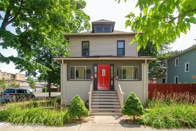 Oak Park Single Family Home Price Change: 1150 South Humphrey Avenue