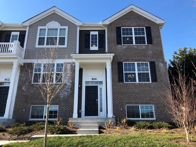 Naperville Condo/Townhouse For Sale: 914 Bradford - Lot 1301 Drive
