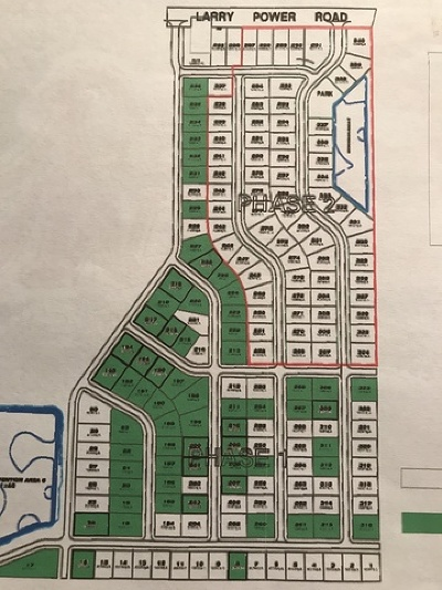 Bradley Residential Lots & Land For Sale: 4001 Larry Power Road