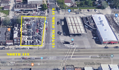 Chicago Residential Lots & Land Contingent: 3600 West North Avenue