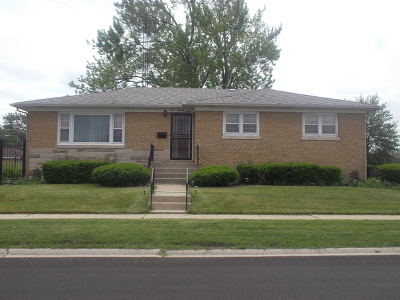 Calumet City Single Family Home For Sale: 427 Marquette Avenue