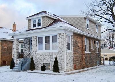 Single Family Home For Sale: 8453 South Vernon Avenue