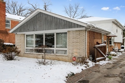 Wilmette Single Family Home For Sale: 808 Laramie Avenue
