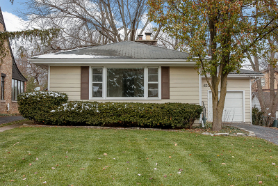 Glen Ellyn Single Family Home For Sale: 622 High Road