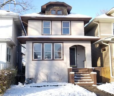 Oak Park Single Family Home For Sale: 1125 South Ridgeland Avenue