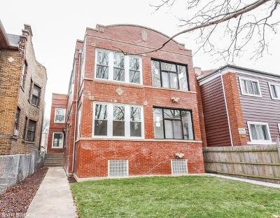 Multi Family Home For Sale: 4827 North Monticello Avenue