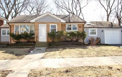 Evanston Single Family Home For Sale: 1500 Noyes Street