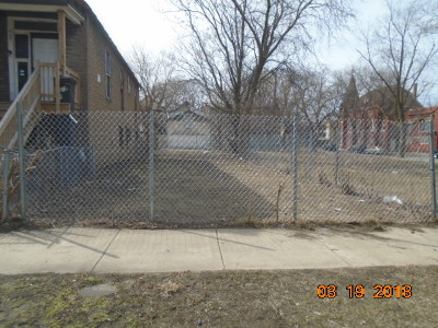 Chicago Residential Lots & Land Re-Activated: 6406 South Rhodes Avenue