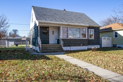 Lansing Single Family Home For Sale: 17814 Chicago Avenue