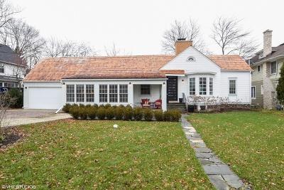 Lake Forest Single Family Home Price Change: 300 Scott Street