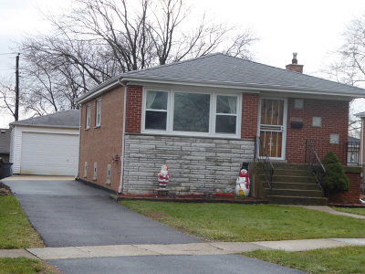 Tinley Park Single Family Home Price Change: 7305 173rd Street