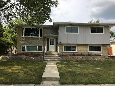 Tinley Park Single Family Home For Sale: 7640 162nd Place