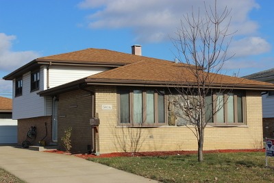 Crestwood Single Family Home For Sale: 5416 137th Place