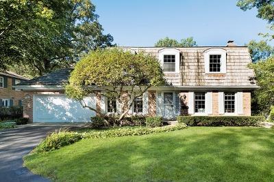 Winnetka Single Family Home For Sale: 1364 Edgewood Lane