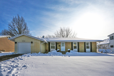 Hoffman Estates Single Family Home For Sale: 3755 Lexington Drive