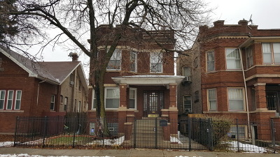 Chicago IL Multi Family Home Contingent: $214,900