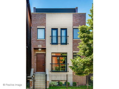 Single Family Home For Sale: 1833 West Race Avenue