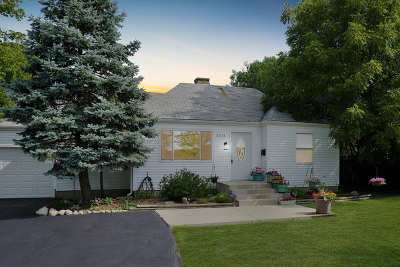 Glenview Single Family Home For Sale: 3614 Central Road