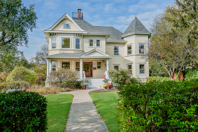 Glen Ellyn Single Family Home For Sale: 564 North Main Street