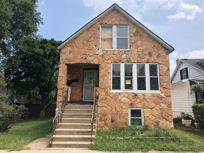 Calumet Park Single Family Home For Sale: 12413 South Carpenter Street