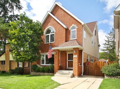 Chicago Single Family Home For Sale: 7738 West Jerome Street