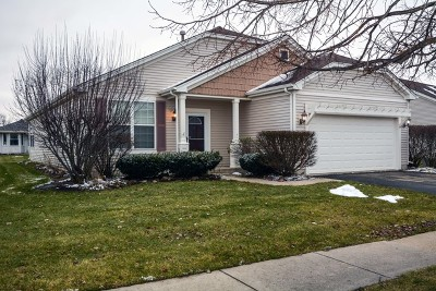 Huntley Single Family Home Re-Activated: 11374 Stonewater Crossing