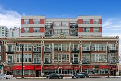 Condo/Townhouse For Sale: 1631 South Michigan Avenue #602