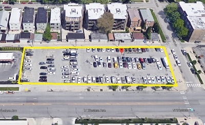 Chicago Residential Lots & Land For Sale: 6101 North Western Avenue