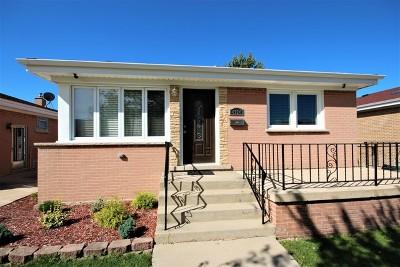 Norridge Single Family Home Contingent: 4924 North Overhill Avenue