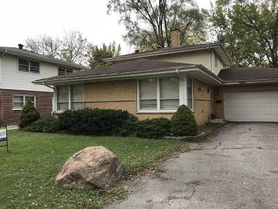 Homewood Single Family Home For Sale: 1251 Thomas Street