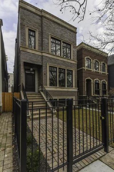 Single Family Home For Sale: 3823 North Marshfield Avenue