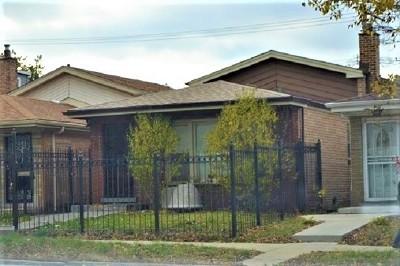 Single Family Home New: 9146 South Jeffery Avenue