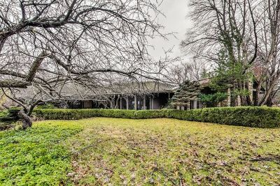 Northbrook Single Family Home Price Change: 20 Bridlewood Road