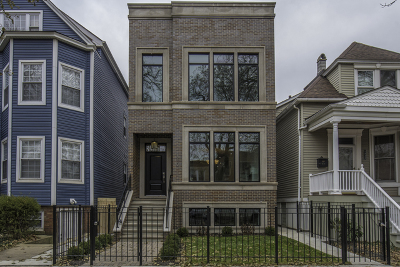 Single Family Home For Sale: 1840 West Barry Avenue