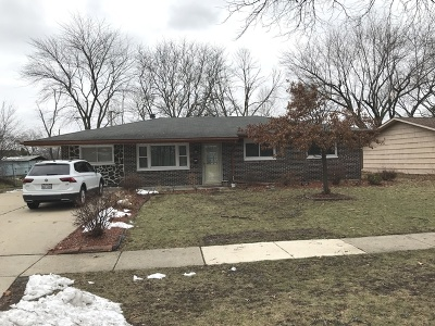 Hoffman Estates Single Family Home For Sale: 1870 North Newport Road
