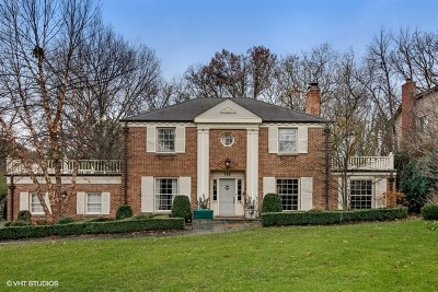 Hinsdale Single Family Home For Sale: 730 Woodland Avenue