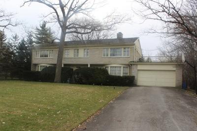 Highland Park Single Family Home Price Change: 80 Oakmont Road