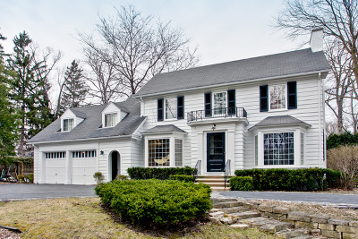 Lake Forest Single Family Home For Sale: 1126 Edgewood Road