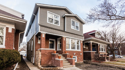 Chicago Single Family Home New: 5141 West Dakin Street