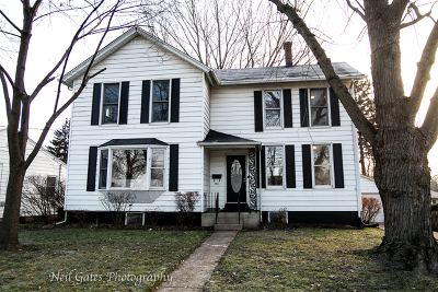 McHenry Single Family Home For Sale: 914 Center Street